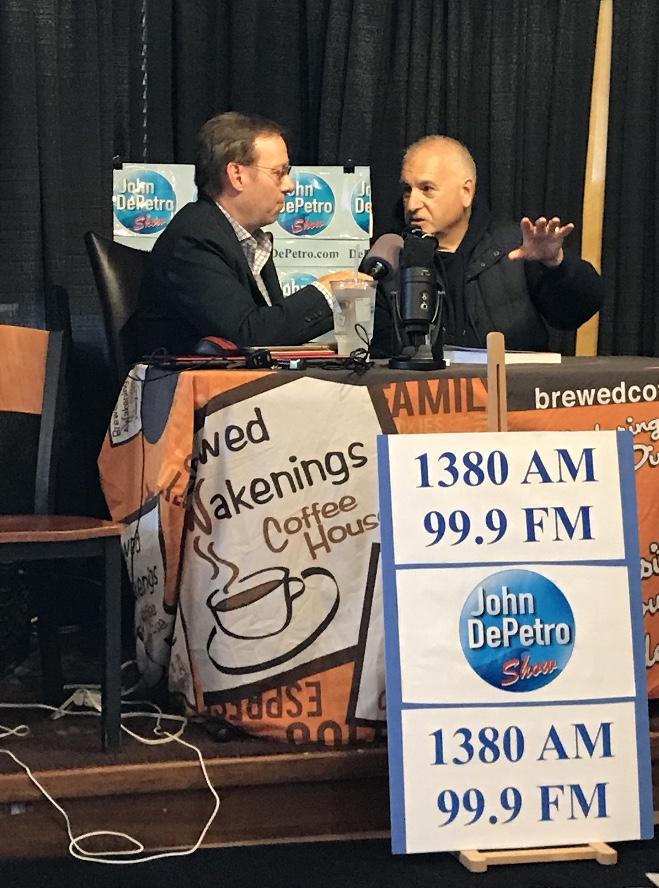 RI Radio Talk Show Host DePetro