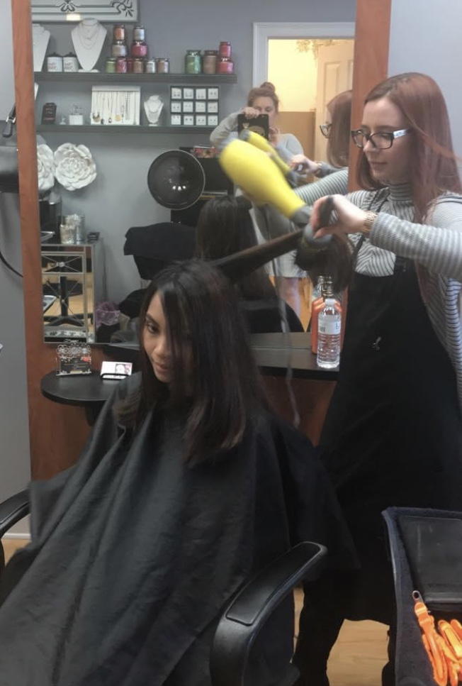 John DePetro asks Governor Raimondo about hair salons