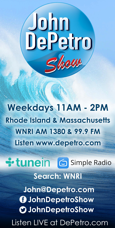 Listen to the John DePetro Radio Show