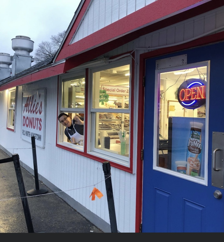 Owner of Allie's Donuts speaks with John DePetro