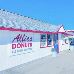 Allie's Donuts tell police and military to screw