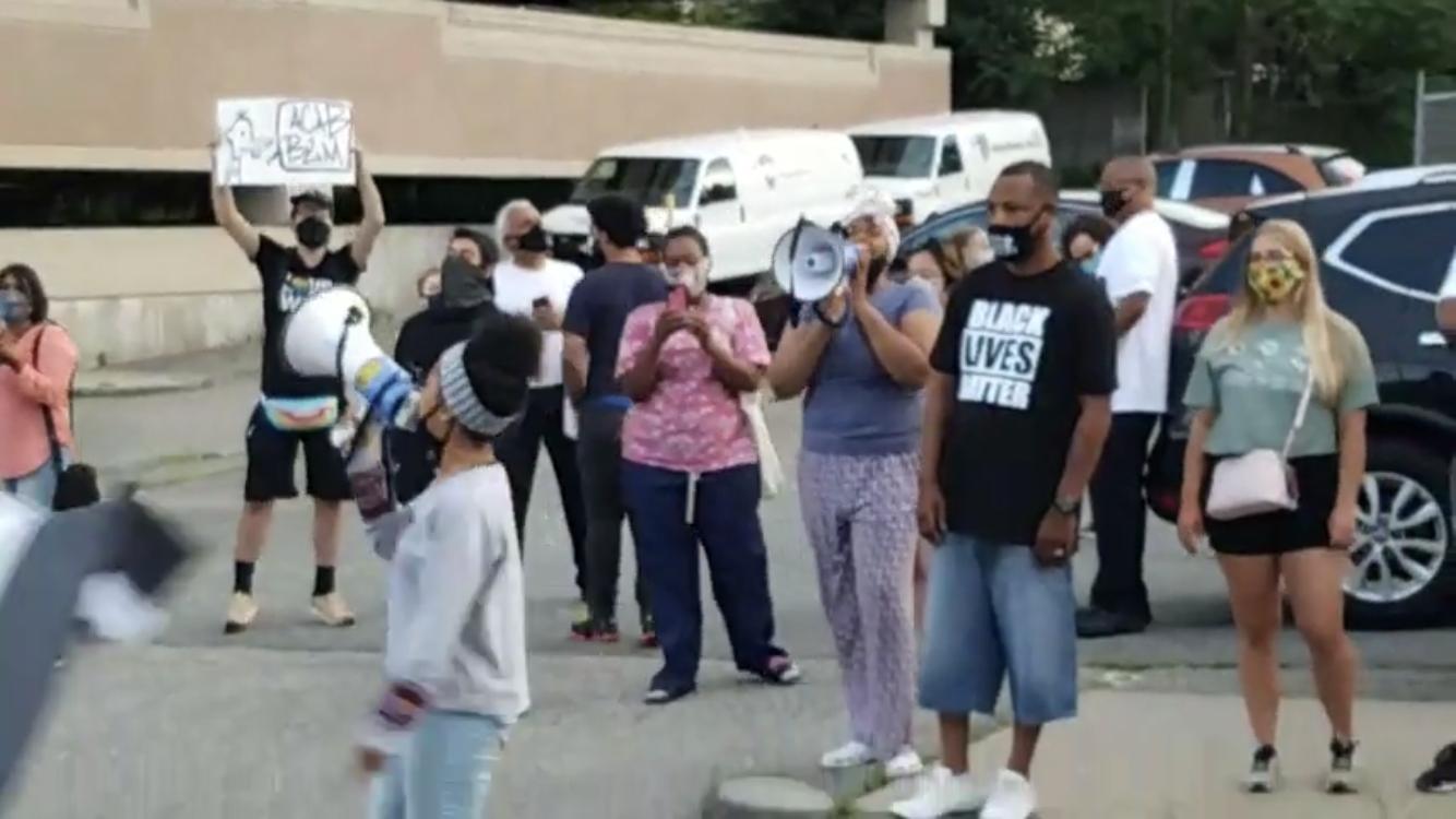 Barrington police under-fire from Black Lives Matter
