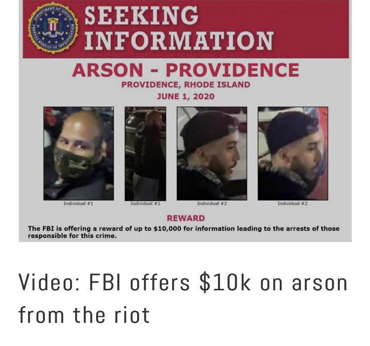 Video: Part 2- FBI nab Providence riot arson suspect