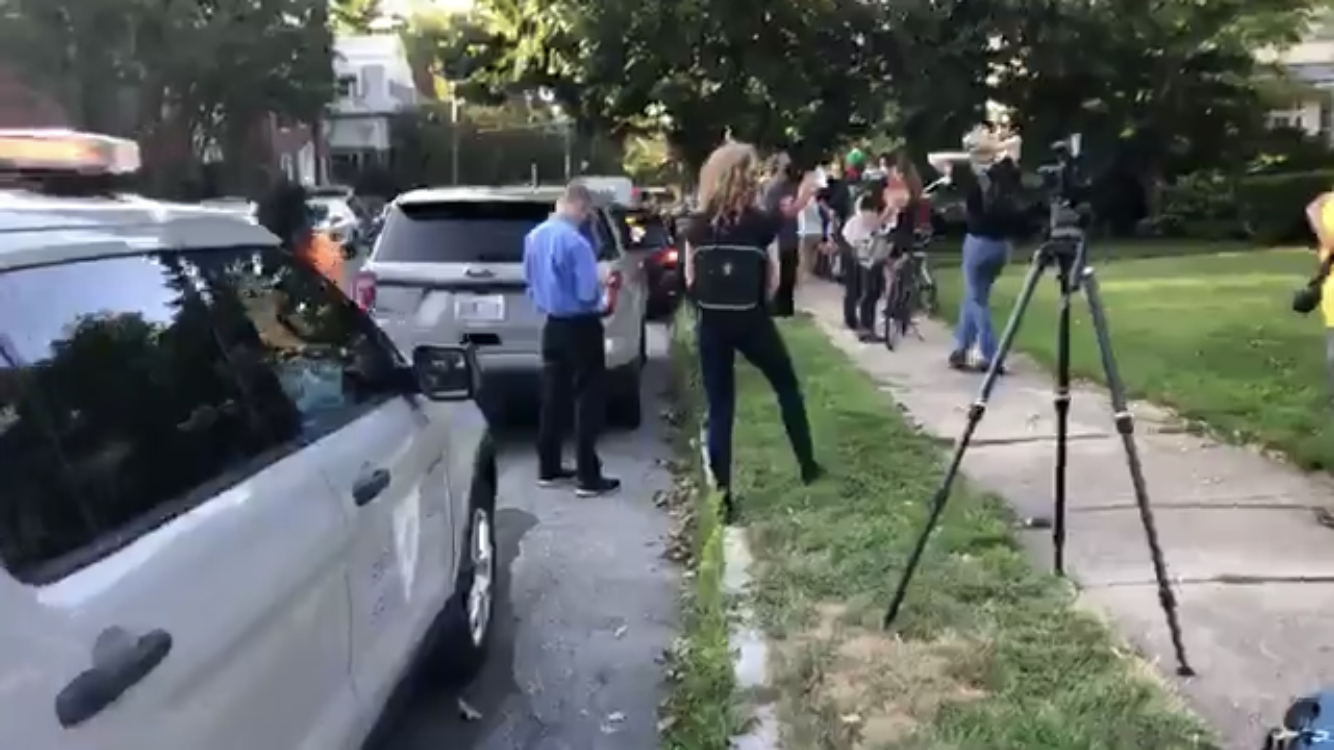 Media bias tries to help the protesters
